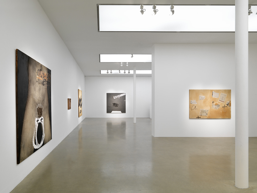 Tàpies Exhibition. Timothy Taylor Gallery