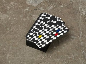Ruth Höflich. The fool. 2012/2013. Silk-screened playing cards.