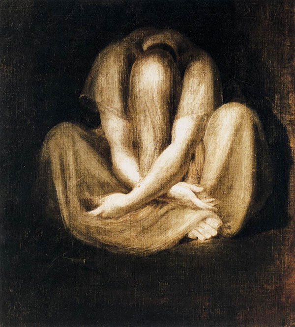 Silence by Henry Fuseli