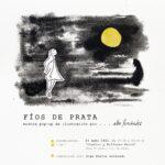 """""""Fíos de Prata"""" de Alba Fernández no barrio do Couto."""