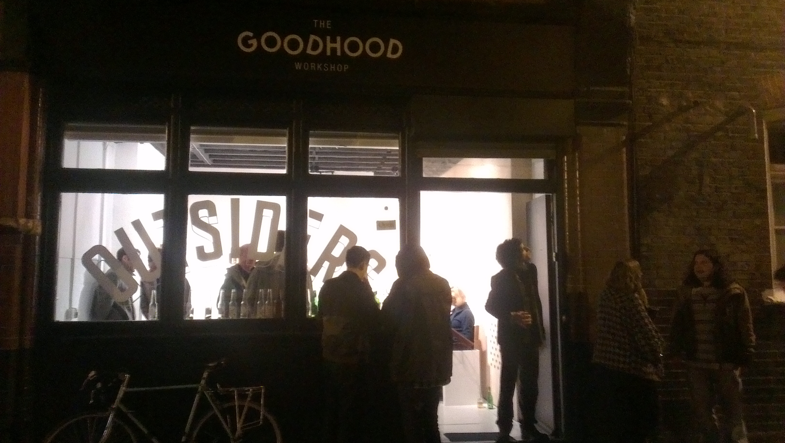 Stevie Ronnie at Galleries Goldstein (Goodhood Workshop)