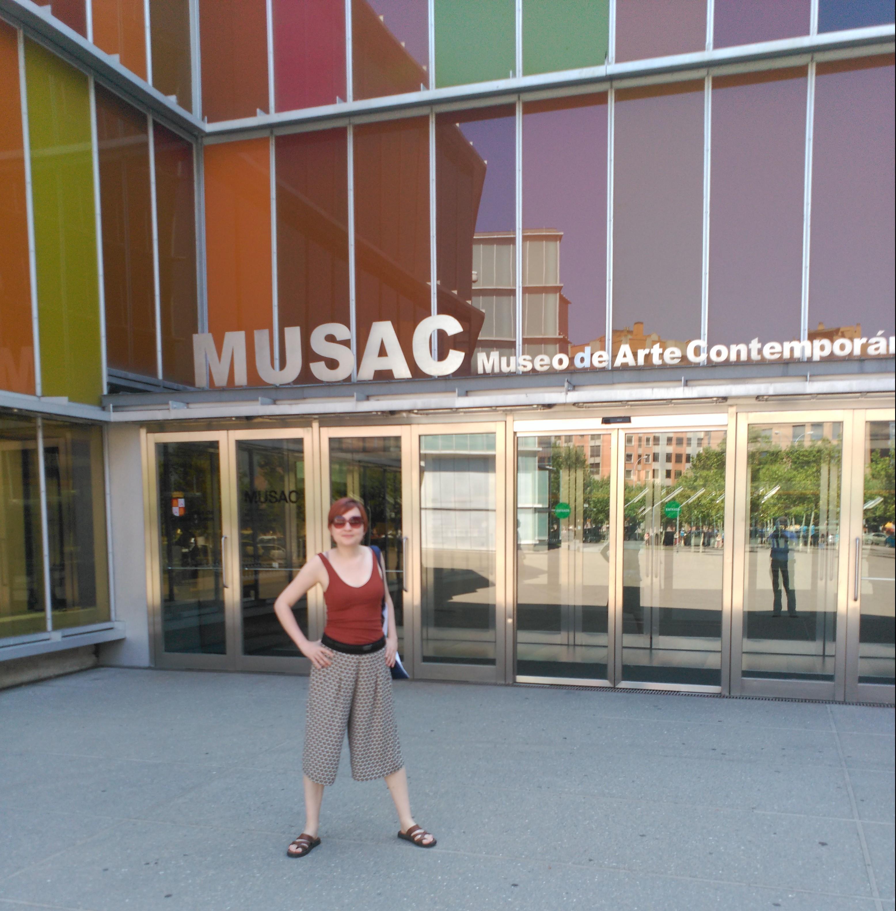 Visita al MUSAC.