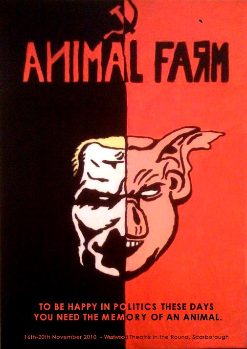 """En este momento estás viendo """"Animal Farm"""" quotes. George Orwell."""