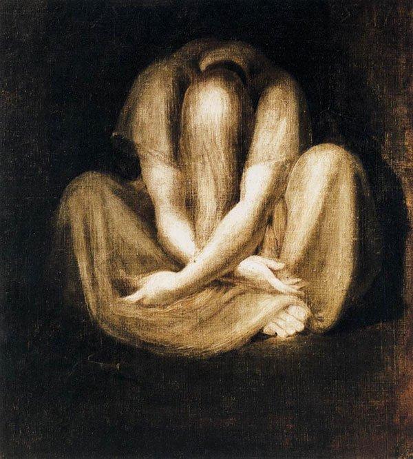 """De cuando iba a ser madre pero ya no y """"El Silencio"""" de Fuseli."""